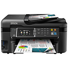 Buy Epson WorkForce WF-3620 All-In-One Wireless Printer, Black Online at johnlewis.com