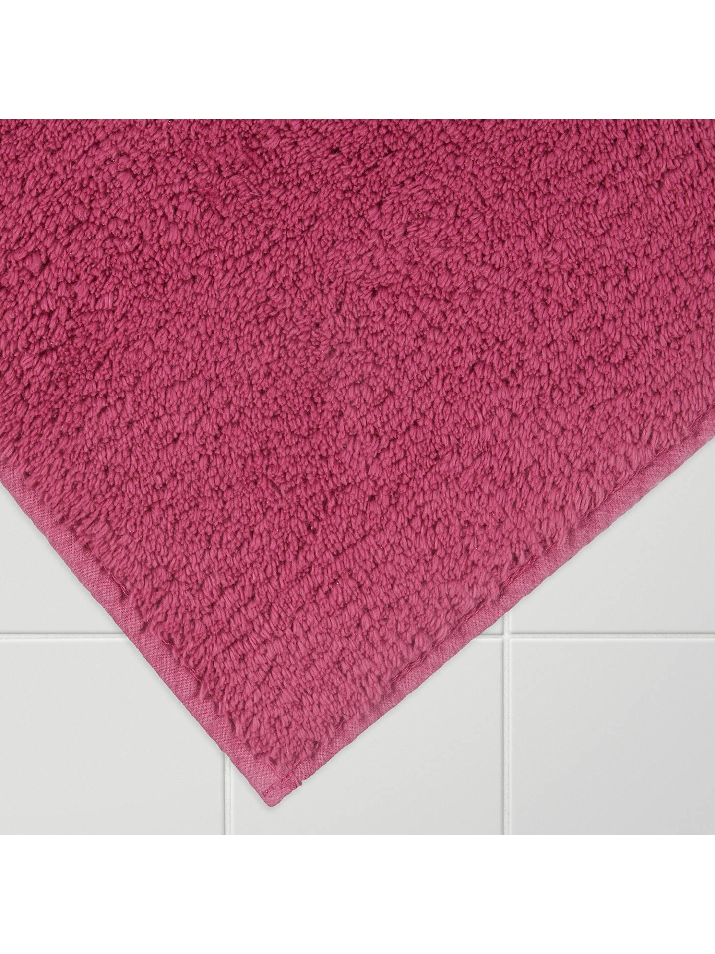 John Lewis Clic Anti Slip Bath Mat Dahlia Online At Johnlewis