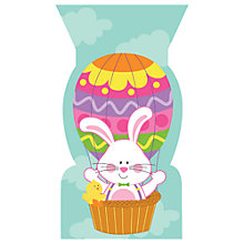 Buy Creative Party Balloon Bunny Cello Bags, Pack of 20 Online at johnlewis.com