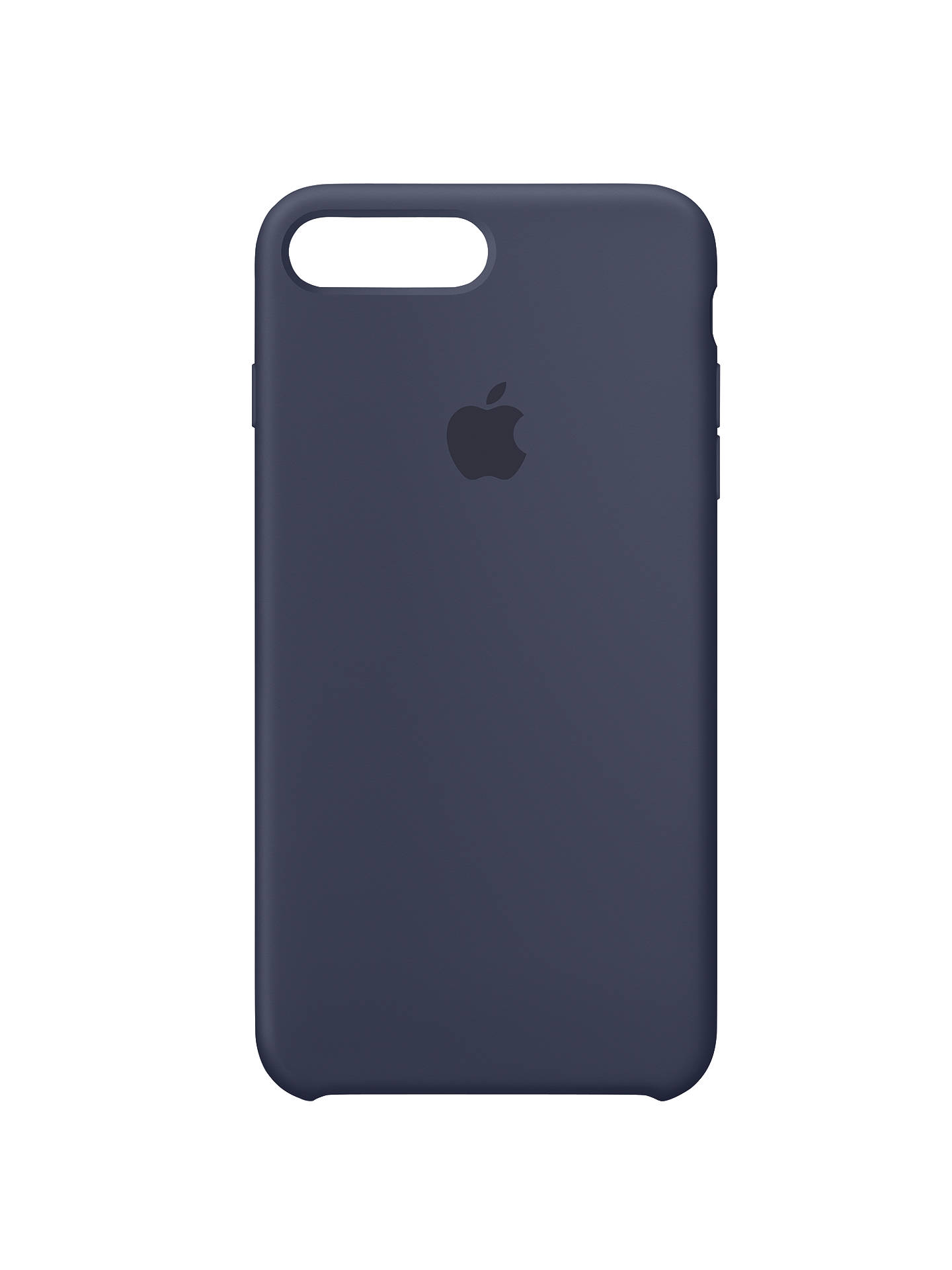 7f8a29c9a5 Buy Apple Silicone Case for iPhone 7 Plus, Midnight Blue Online at  johnlewis.com