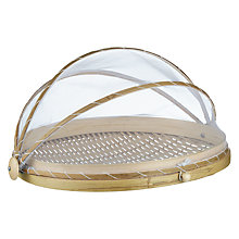 Buy John Lewis Bamboo Concertina Food Cover Online at johnlewis.com