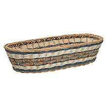 Buy John Lewis Sorrento Rattan Bread Basket Online at johnlewis.com