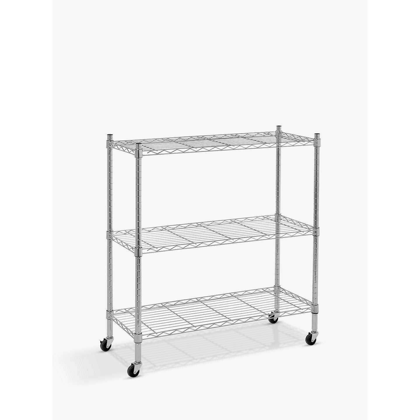 side hooks and rack acevog portable shelf mirage clothes wire tier wheels shelving with shop rakuten garment product