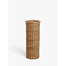 Buy John Lewis Croft Collection Wicker Umbrella Stand Online at johnlewis.com