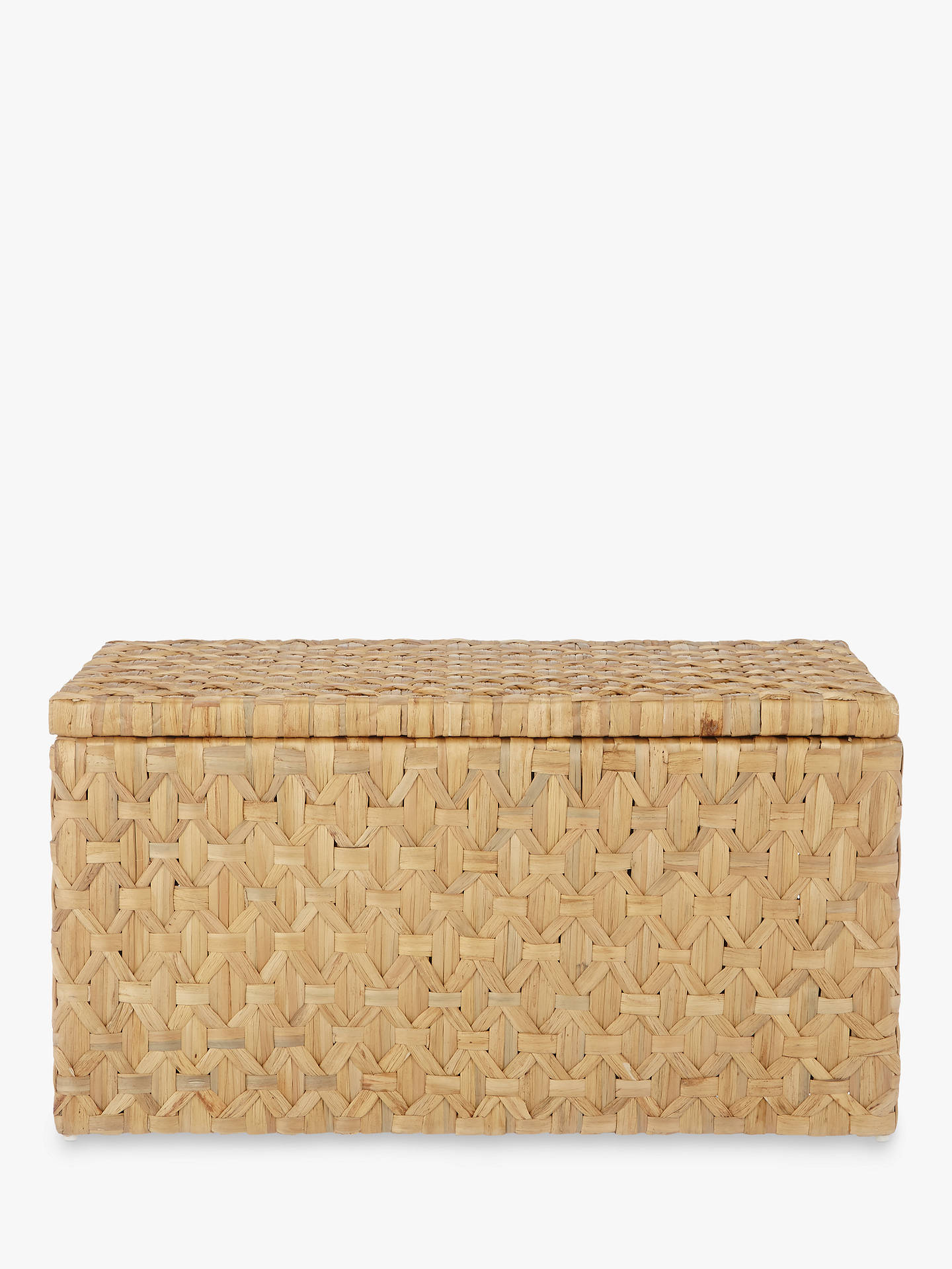 BuyJohn Lewis & Partners Fusion Water Hyacinth Trunk, Natural Online at johnlewis.com