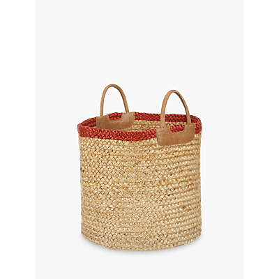 John Lewis Jute Braided Tote Bag