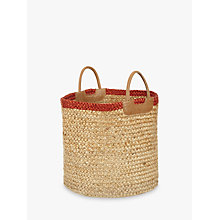 Buy John Lewis Jute Braided Tote Bag Online at johnlewis.com