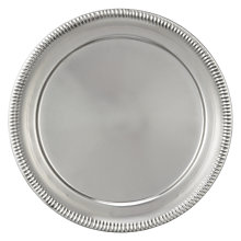 Buy John Lewis Country 33cm Underplate, Silver Online at johnlewis.com