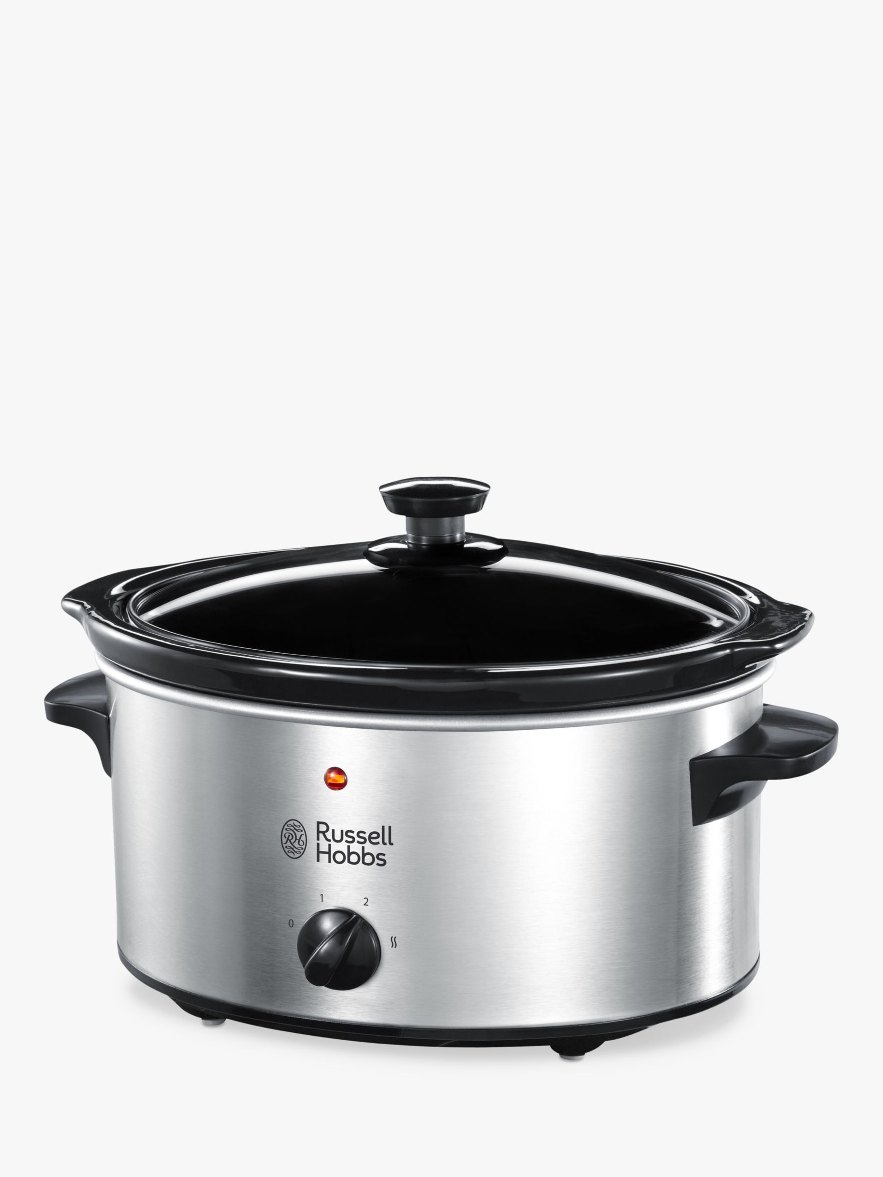 Russell Hobbs Russell Hobbs 3.5L Slow Cooker, Stainless Steel