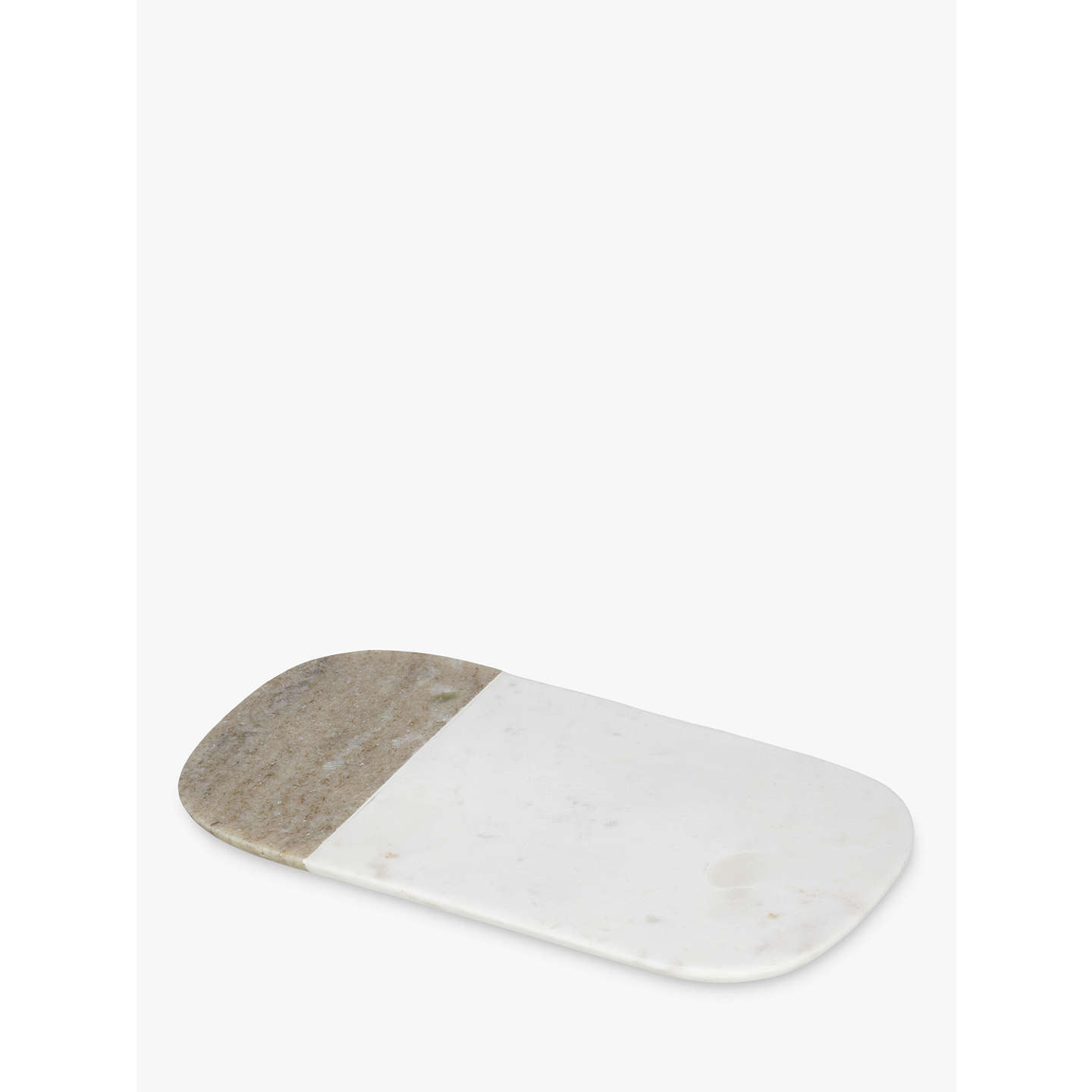BuyCroft Collection Arundel Marble Serving Board, Small Online at johnlewis.com
