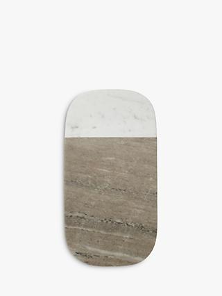Croft Collection Arundel Marble Serving Board, Large
