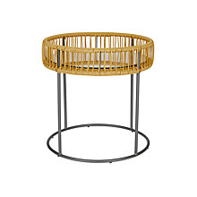 Buy House by John Lewis Salsa Outdoor Side Table, Saffron Online at johnlewis.com