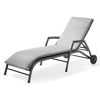 John Lewis Henley by KETTLER Sunlounger with Cushion
