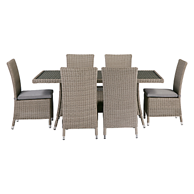 John Lewis Dante 6 Seater Table & Chairs Set