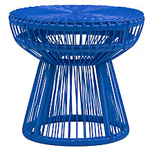 Buy House by John Lewis Salsa 50cm Table, Lapis Online at johnlewis.com