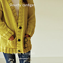 Buy Erika Knight for John Lewis Women's Slouchy Cardigan Knitting Pattern Online at johnlewis.com