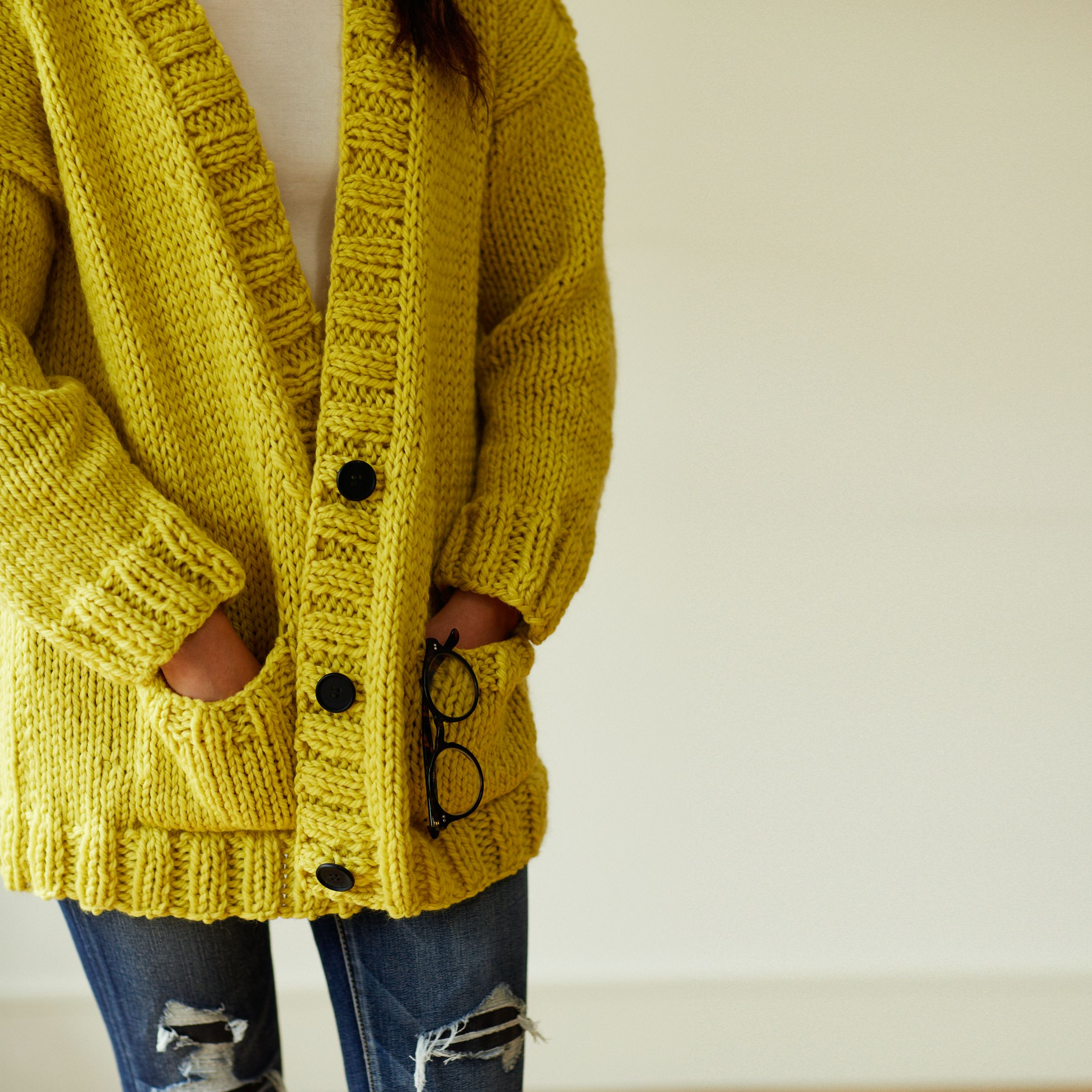 Knitting Pattern John Lewis : Buy Erika Knight for John Lewis Womens Slouchy Cardigan Knitting Pattern...