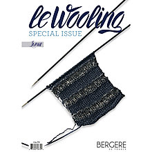 Buy Bergere De France Lumis Knitting Pattern Mini Magazine Online at johnlewis.com