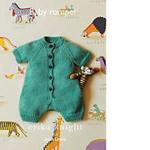 Buy Erika Knight for John Lewis Baby Romper Knitting Pattern Online at johnlewis.com