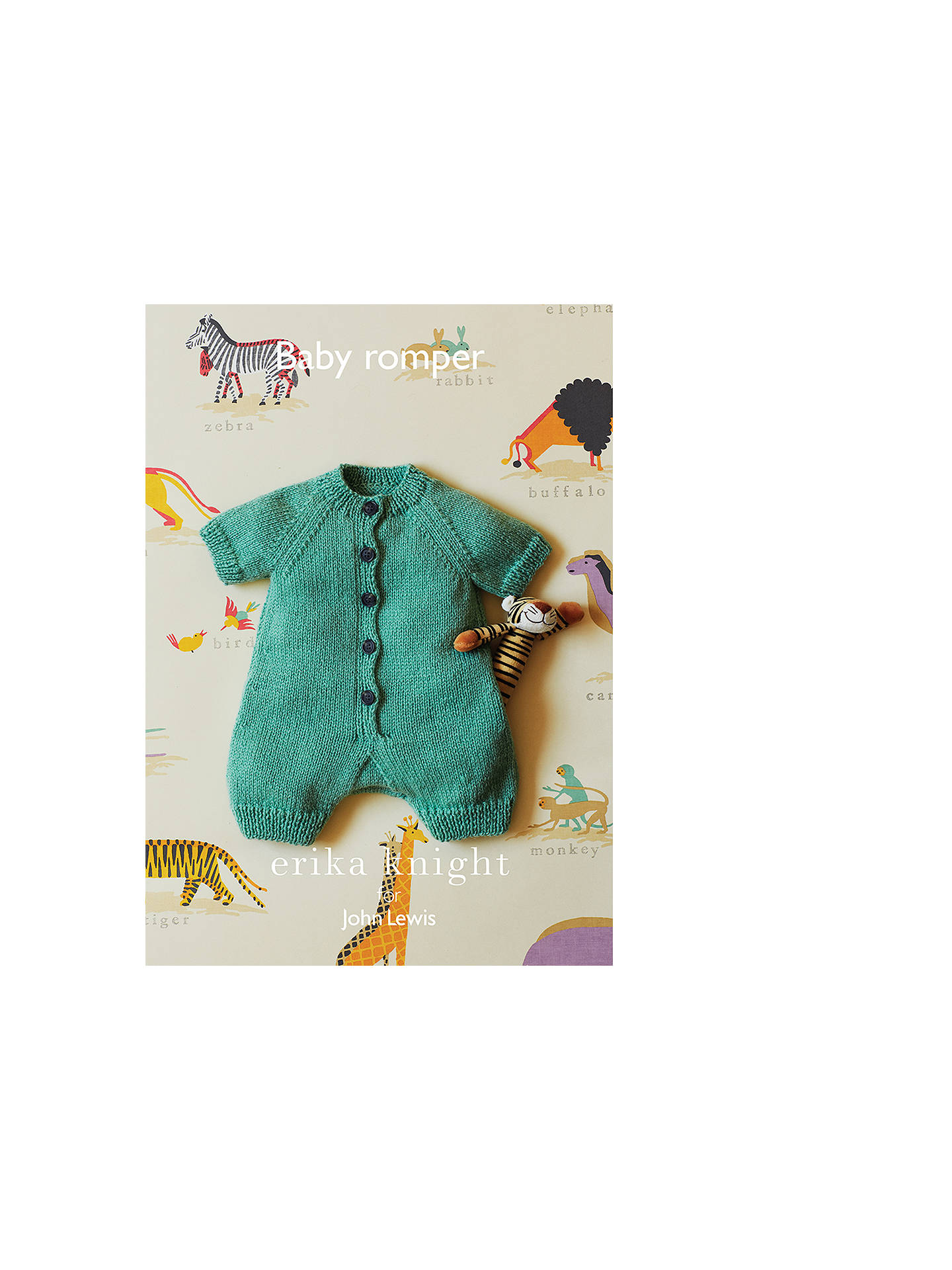 7d50ae24758a19 Buy Erika Knight for John Lewis Baby Romper Knitting Pattern Online at  johnlewis.com ...