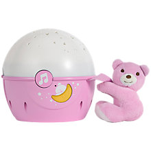 Buy Chicco Next To Me Nightlight, Pink Online at johnlewis.com