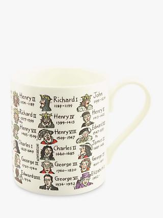 McLaggan Smith Kings and Queens Mug, 350ml