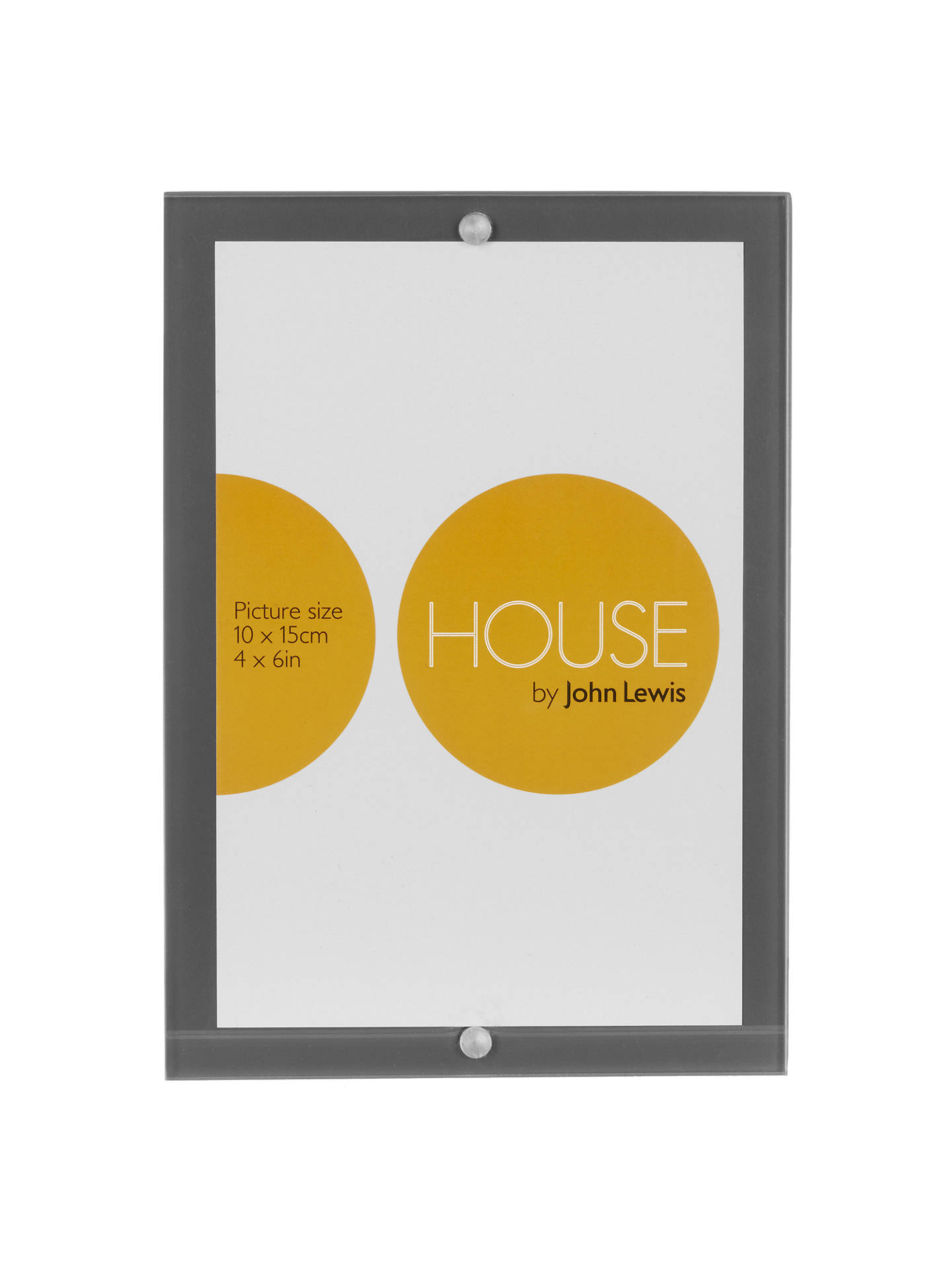 House By John Lewis Wood Acrylic Block Photo Frame 4 X 6 At John