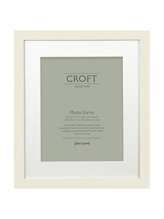 "Croft Collection Frame & Mount FSC-certified, 8 x 10"" (H20 x W25cm)"