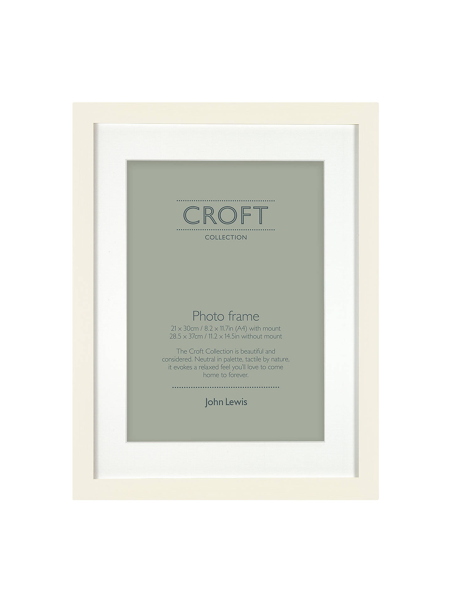 Croft Collection Frame Mount Fsc Certified A4 21 X 30cm At John