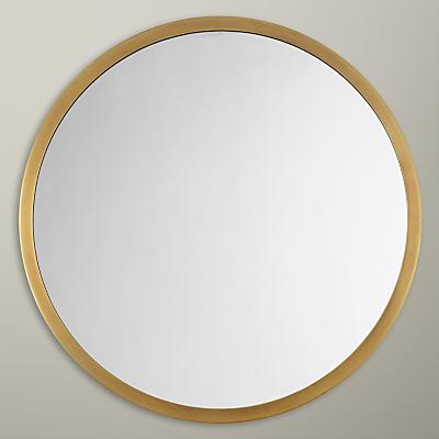 John Lewis Small Round Mirror, Dia. 46cm