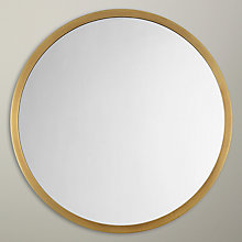 Buy John Lewis Small Round Mirror, Dia. 46cm Online at johnlewis.com