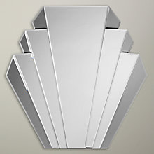 Buy Deco Smoked Glass Mirror, 76 x 76cm Online at johnlewis.com