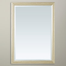 Buy John Lewis Slim Wilde Mirror, Gold, 87 x 62cm Online at johnlewis.com