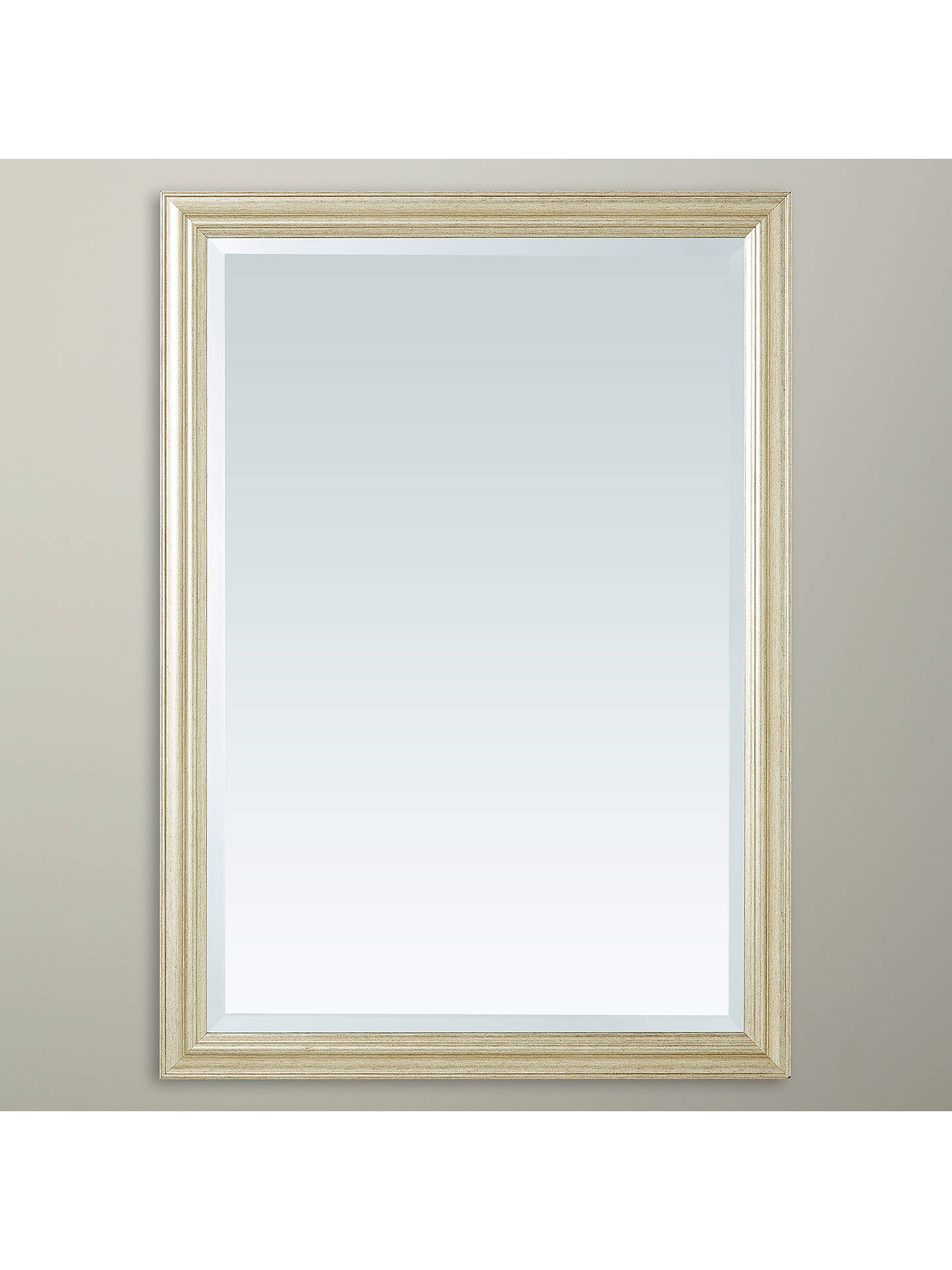 Buy John Lewis & Partners Slim Wilde Mirror, 87 x 62cm, Gold Online at johnlewis.com