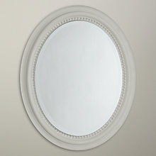Buy John Lewis Small Oval Mirror, Duck Egg, 40 x 50cm Online at johnlewis.com
