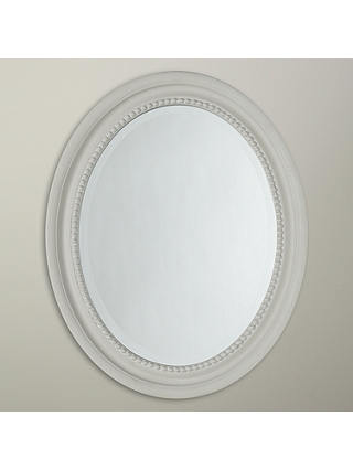 Buy John Lewis & Partners Small Oval Mirror, 40 x 50cm, Duck Egg Online at johnlewis.com