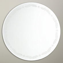 Buy John Lewis Floral Leaf Round Mirror, Dia.50cm Online at johnlewis.com