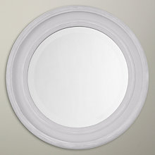 Buy John Lewis Porthole Mirror, Grey, Dia.40cm Online at johnlewis.com