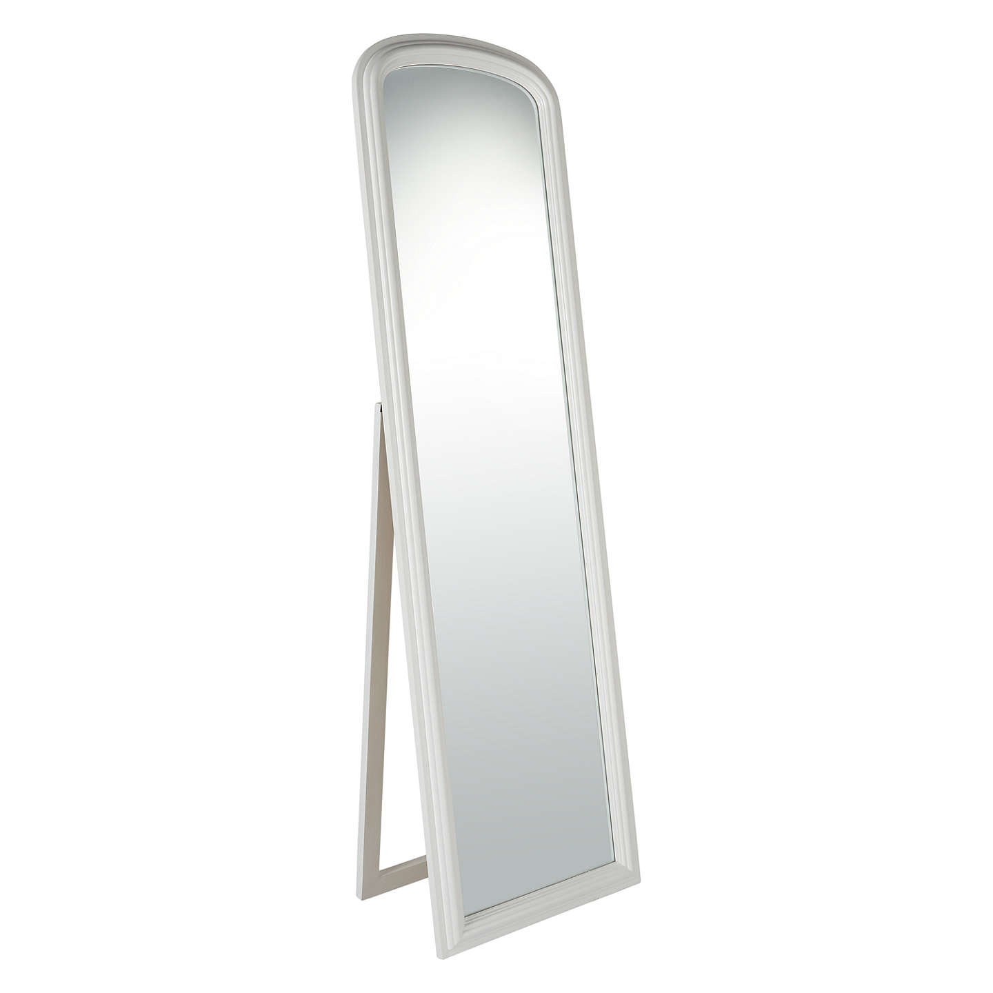 white full length mirror. BuyCroft Collection Freestanding Full Length Mirror, White Online At Johnlewis.com Mirror