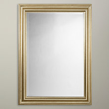 Buy John Lewis Wilde Mirror, Gold, 114 x 83cm Online at johnlewis.com