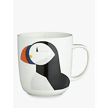 Buy John Lewis Coastal Puffin Mug Online at johnlewis.com