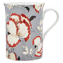 Buy John Lewis Country Archive Flower Mug, Red / White Online at johnlewis.com