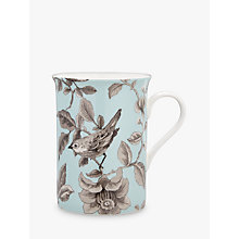 Buy John Lewis Country Archive Nightingale Mug, Turquoise Online at johnlewis.com