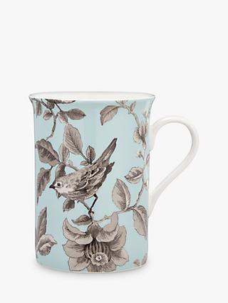 c5346db41424 John Lewis & Partners Country Archive Nightingale Mug, Turquoise