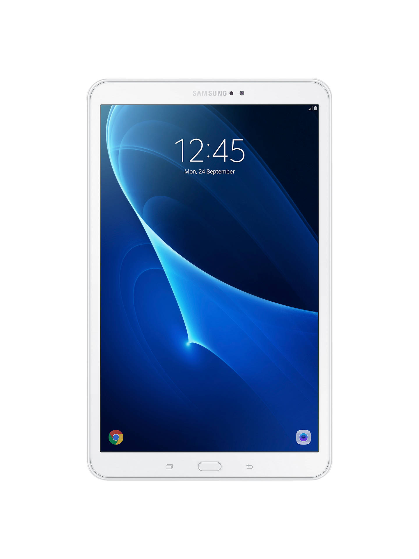 "BuySamsung Galaxy Tab A Tablet, Android M, 10.1"", 16GB, Wi-Fi, White Online at johnlewis.com"