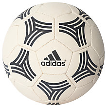 Buy Adidas Tango All-Around Football, Size 5, White/Black Online at johnlewis.com
