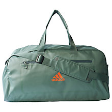 Buy Adidas Climacool Teambag, Medium, Green Online at johnlewis.com