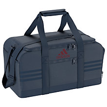 Buy Adidas 3-Stripes Performance Team Sports Bag, Blue Online at johnlewis.com
