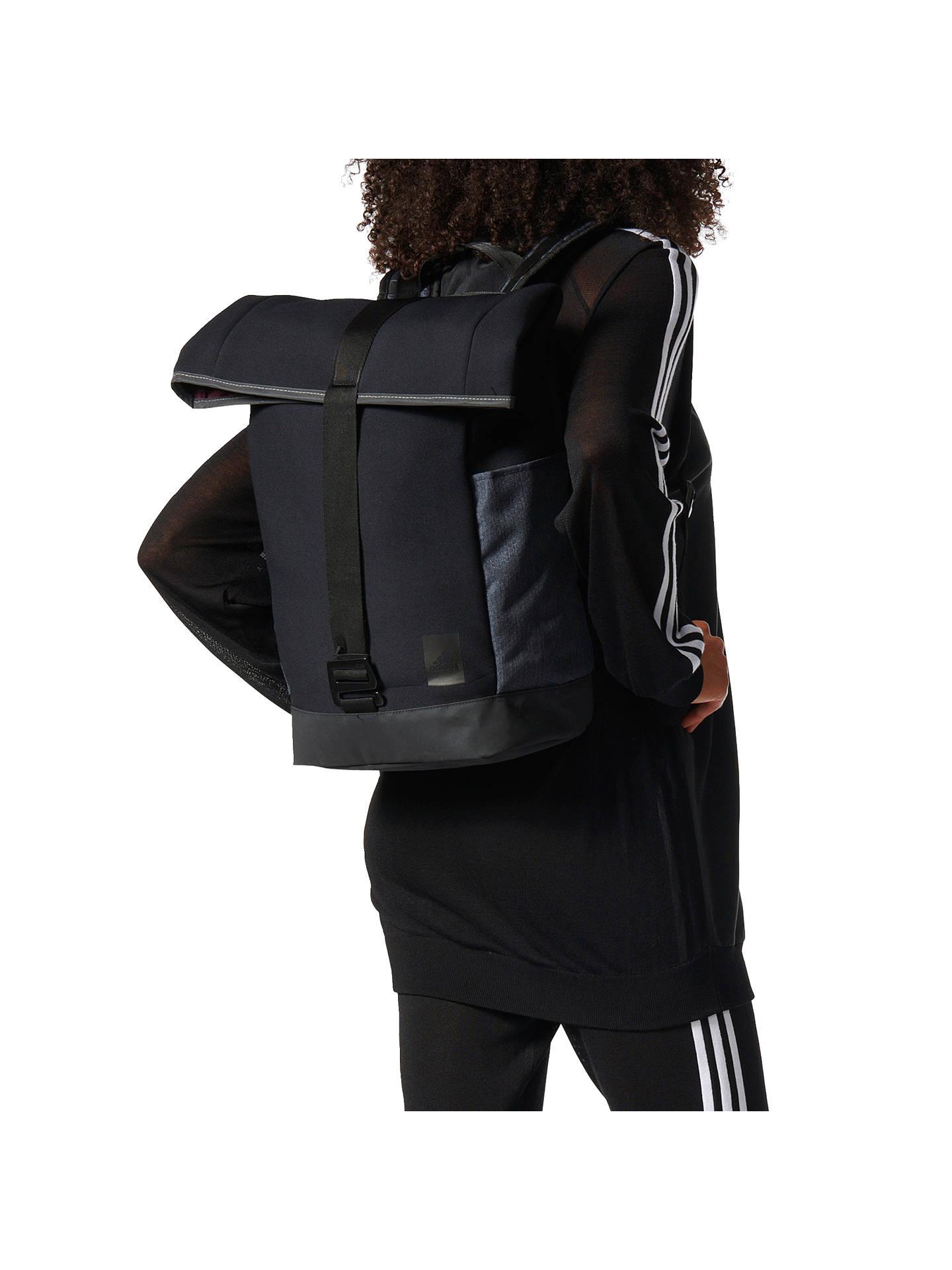 e7bb6235ce7 ... Buy adidas Best Backpack Bag, Black Online at johnlewis.com