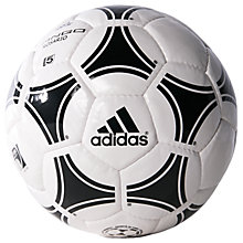 Buy Adidas Tango Rosario Football, Size 5, White/Black Online at johnlewis.com